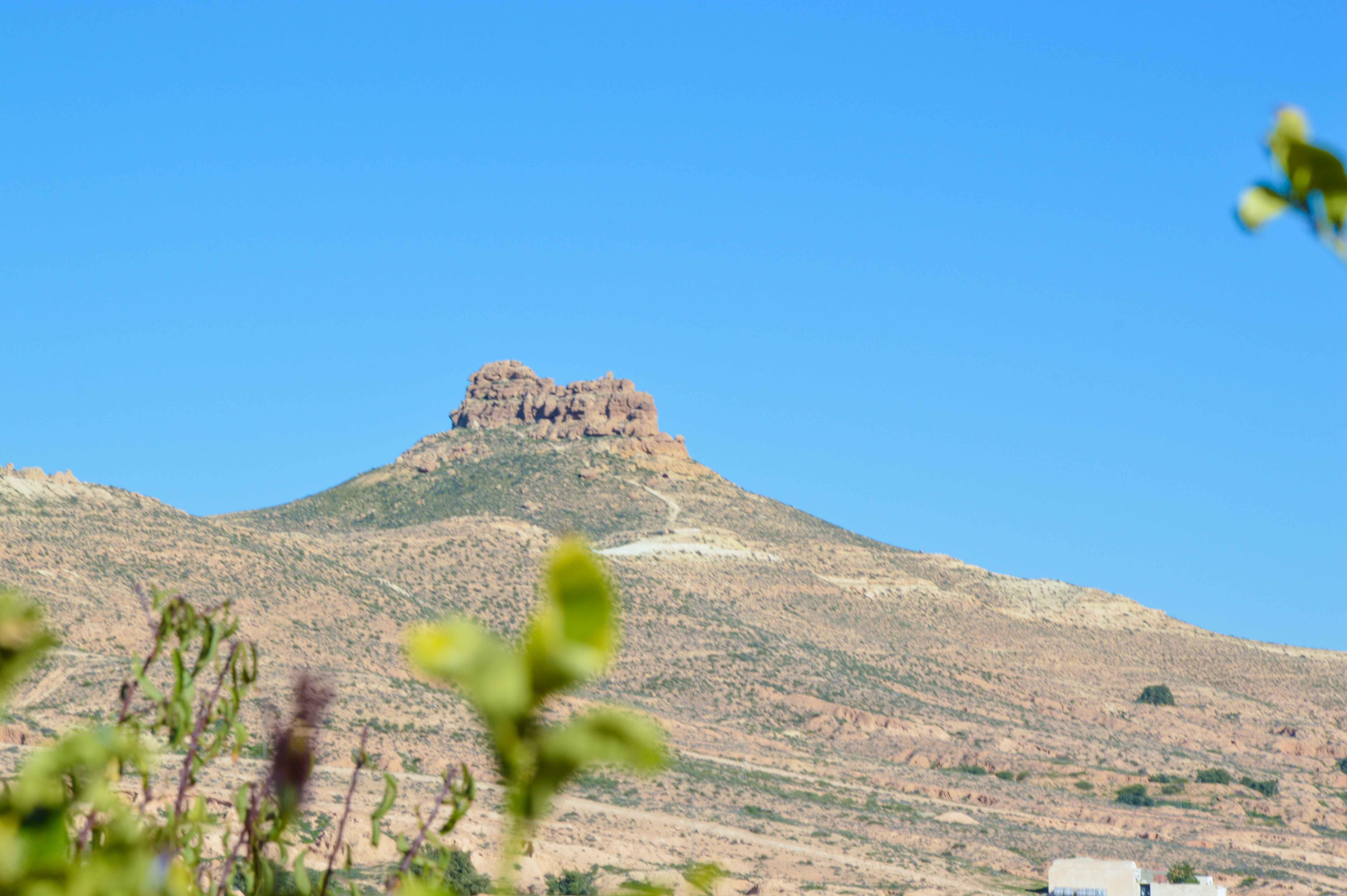 Mont Mzenzen Tunisie